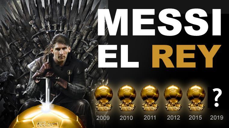 EL REY DEL FÚTBOL: Vayan preparando otro Balón de Oro para adornar el templo de Messi