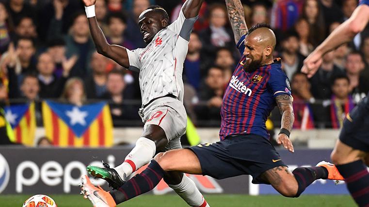 Arturo Vidal, 'on fire': Fue titular, hizo un partidazo y se fue ovacionado