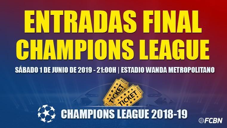Entradas Final Champions League 2019