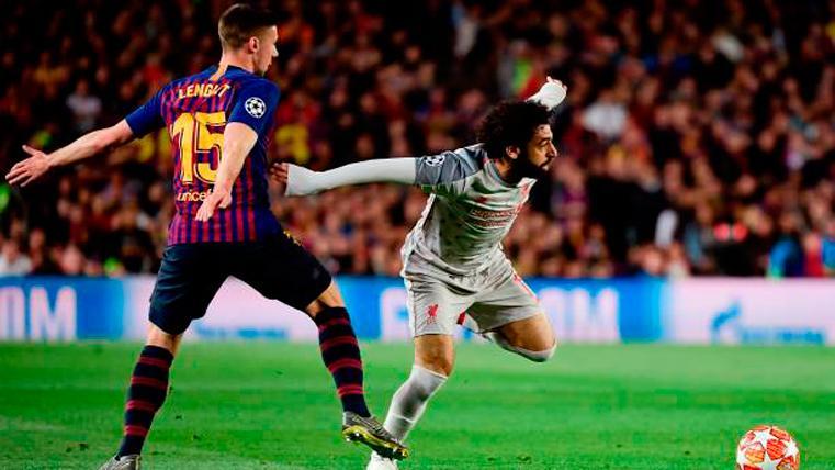 El mensaje de Lenglet tras su noche más difícil ante Salah