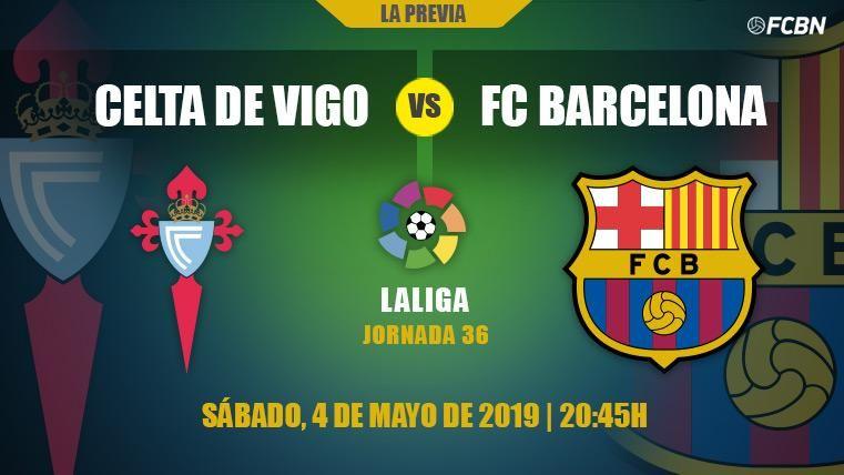 La segunda unidad del Barça encabeza el intrascendente duelo ante el Celta