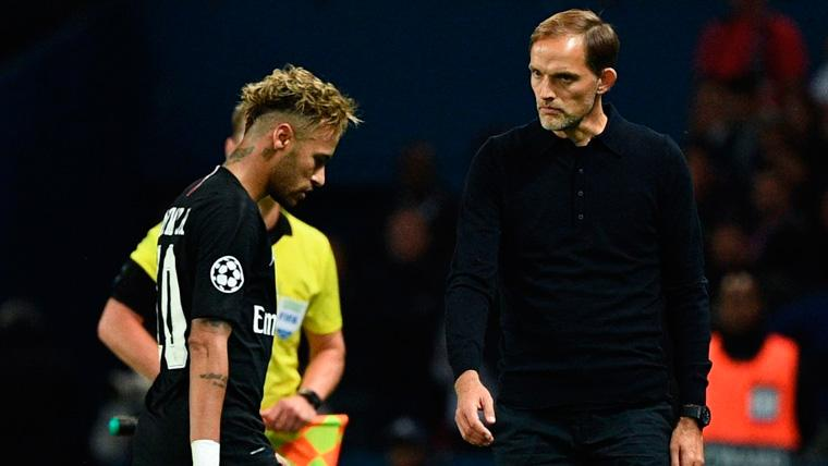 Thomas Tuchel ensures that it sees to Neymar sad in the PSG and will treat  to help him