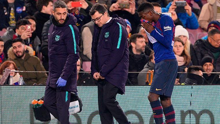 ¡Dembélé vuelve a lesionarse con el FC Barcelona en Balaídos!