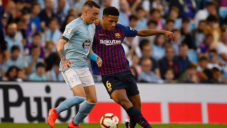 Jean-Clair Todibo, otro lesionado más en el Celta-Barcelona