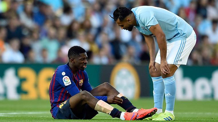 COMUNICADO: Primer diagnóstico del Barça sobre la lesión de Dembélé