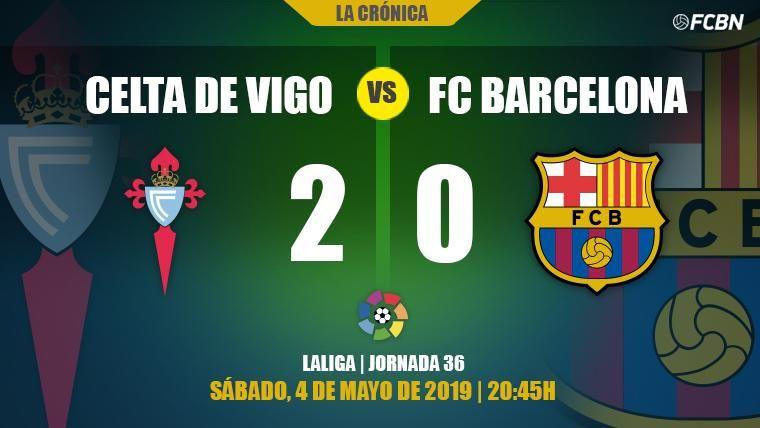 Maxi Gómez y Iago Aspas alimentan las dudas de la 'segunda unidad' del Barça (2-0)