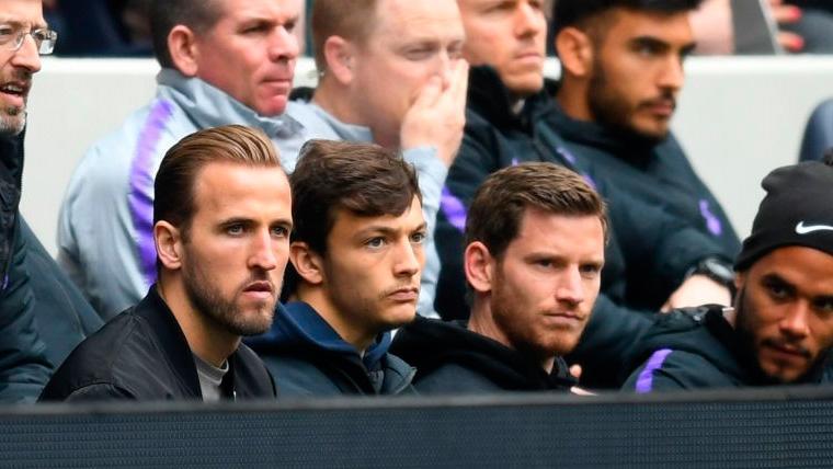 Harry Kane se plantea forzar en su recuperación para ayudar al Tottenham en Champions
