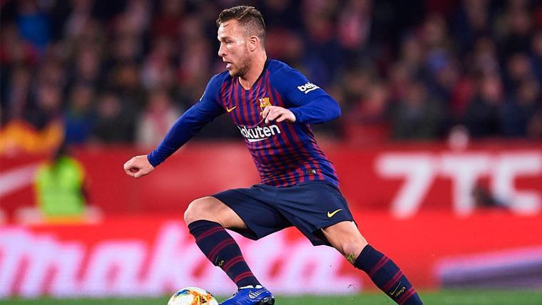 Valverde volvió a dosificar a Arthur con una sustitución en LaLiga