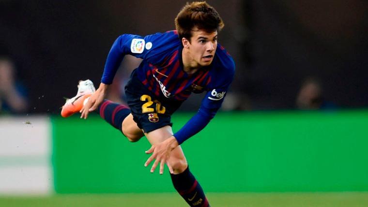 Riqui Puig recalca sus preferencias para su futuro en el FC Barcelona