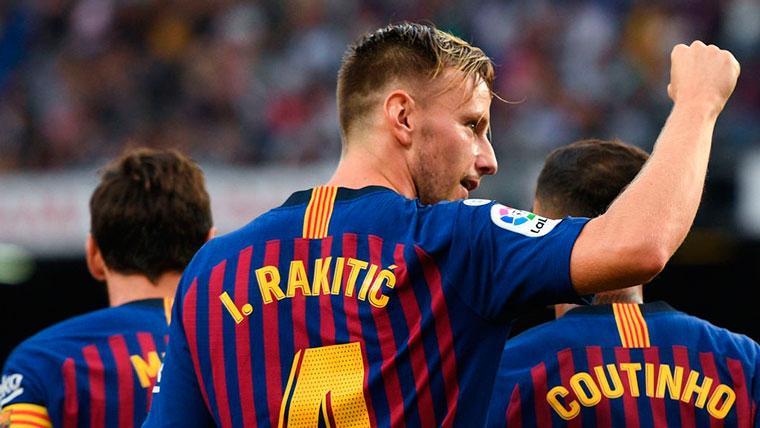 El Barcelona y el Inter de Milán, cerca del acuerdo por Rakitic