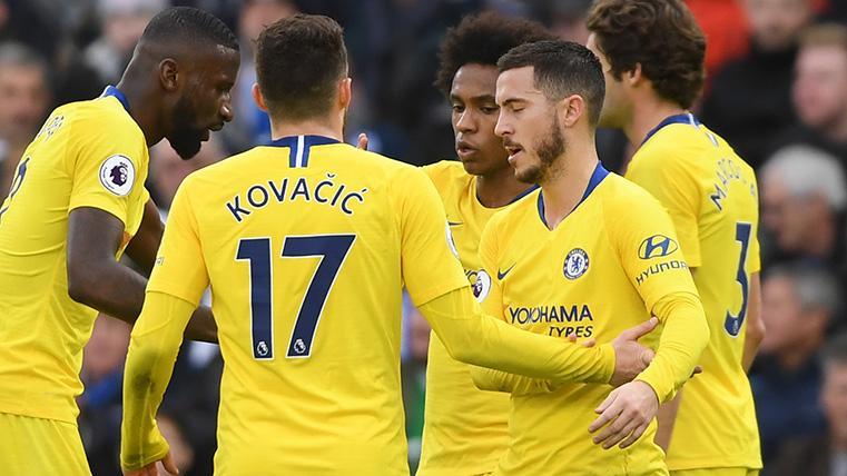 Kovacic entrará en la operación de Hazard para rebajar el precio del belga