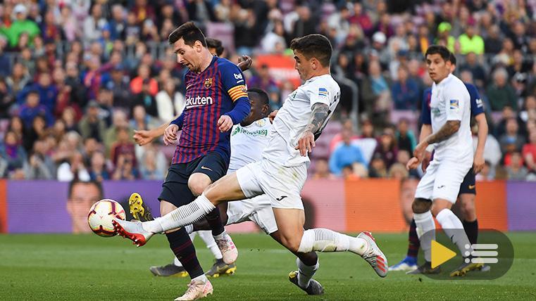Vídeo resumen: FC Barcelona 2 Getafe 0 (LaLiga J37)