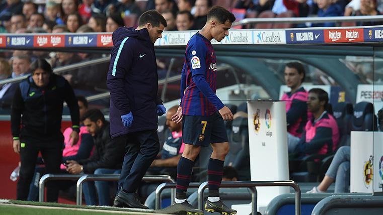 OFICIAL: Comunicado del Barça sobre la lesión de Coutinho
