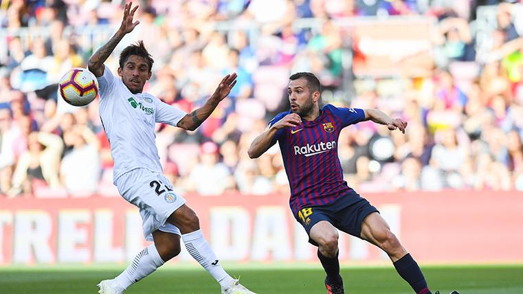 Jordi Alba pide la continuidad de Valverde en el FC Barcelona