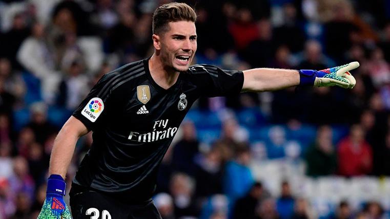 Zidane quiere que su hijo Luca sea el segundo portero del Madrid la próxima temporada
