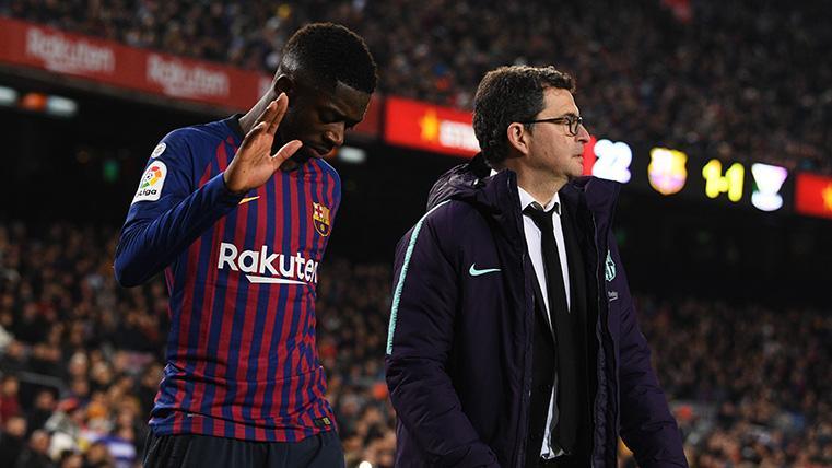 Dembélé tiene difícil llegar a la final de Copa y acumula cinco lesiones en el Barça