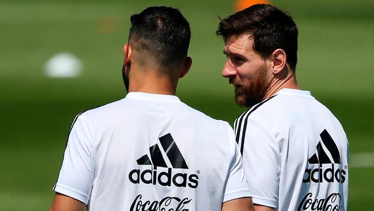 Agüero menciona a Messi y explica sus palabras sobre el Balón de Oro