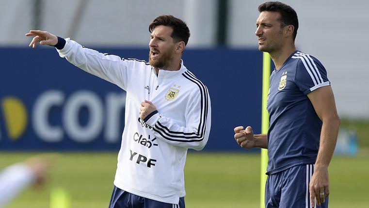 Messi, en la lista preliminar de Argentina para la Copa América