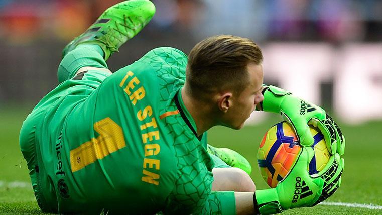 Ter Stegen se pierde el último partido de Liga