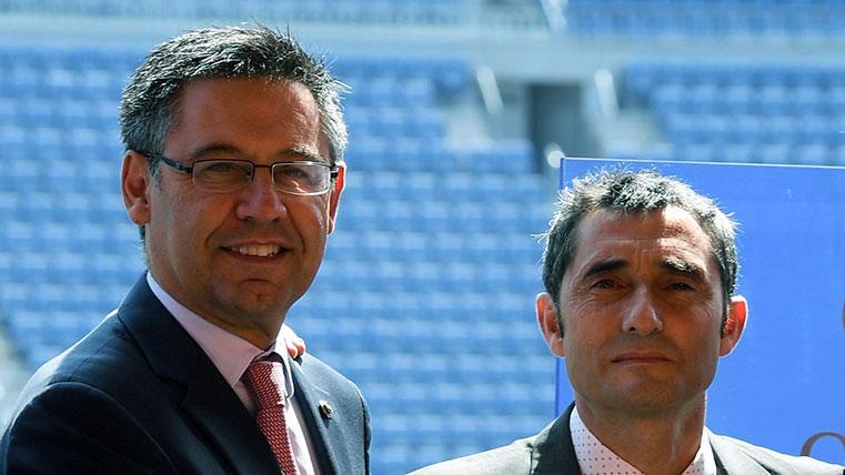 Bartomeu ratifica a Ernesto Valverde: seguirá en el Barcelona