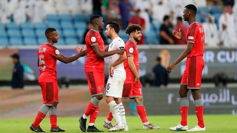 Xavi pierde su última final como futbolista profesional con el Al-Sadd