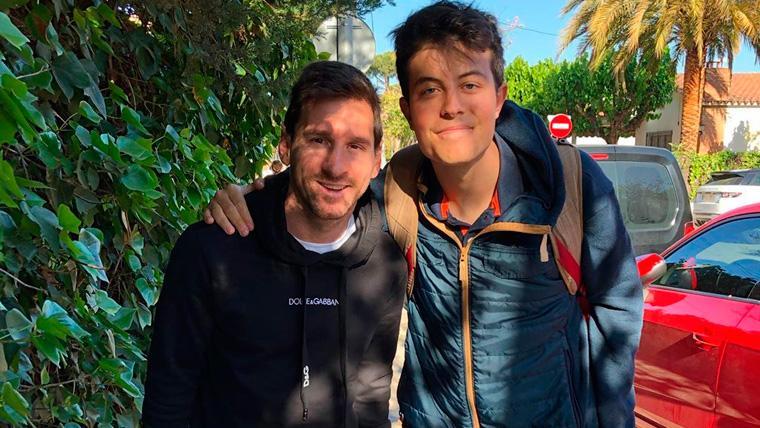 VIRAL: El escrito de un aficionado tras encontrarse con Messi que está dando la vuelta al mundo