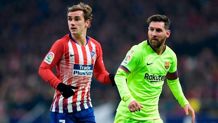 Aseguran que Messi ha contactado con Griezmann para 'ficharle' para el Barça