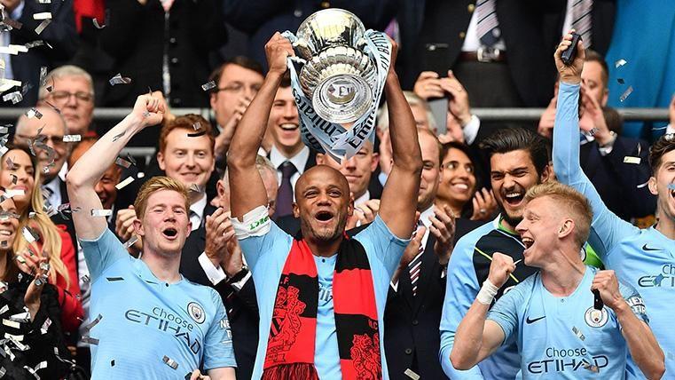 El City golea al Watford en la final de la FA Cup y pone el broche de oro a un año sensacional (6-0)