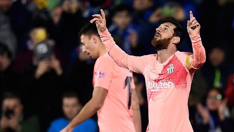 GENIO:Doblete de Messi en el primer tiempo para remontar ante el Eibar en Ipurua