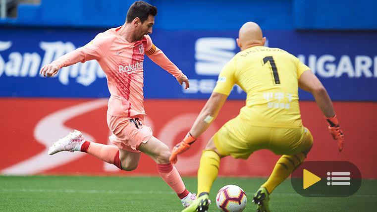 Vídeo resumen: Eibar 2 FC Barcelona 2 (LaLiga J38)