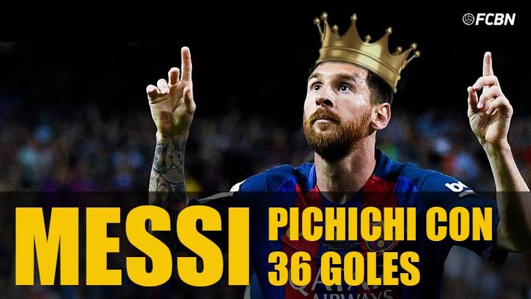 HISTÓRICO:Messi iguala los seis 'Pichichis' de Zarra en LaLiga