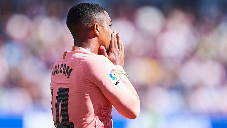 Malcom pierde la chispa justo cuando el Barça más le necesita