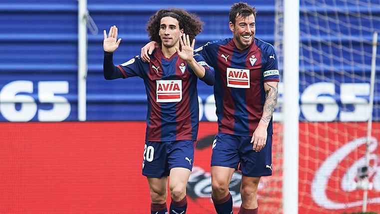 """Cucurella no se esperaba marcar: """"Se hace un poco extraño marcarle al Barça"""""""
