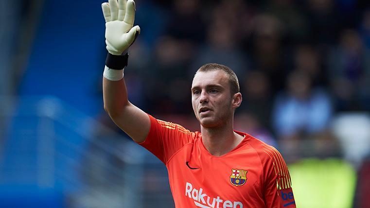 Cillessen 'cantó' contra el Eibar y debe ponerse las pilas para la final de Copa