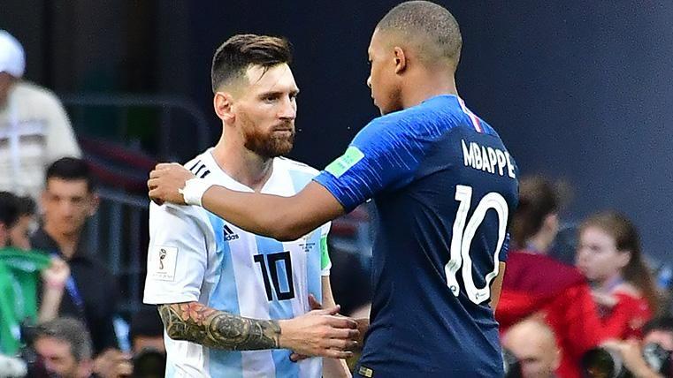 Kylian Mbappé apuesta por Leo Messi para el Balón de Oro 2019
