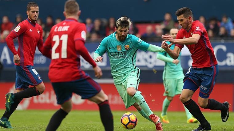 El Osasuna ya es de Primera y jugará contra el Barça de Messi la próxima temporada