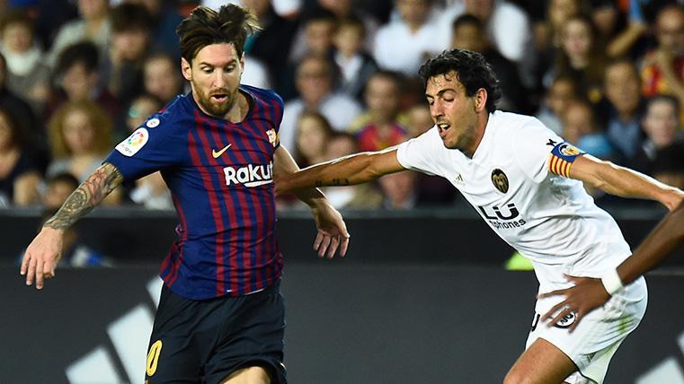 Dani Parejo se rinde a Leo Messi y elogia a Ernesto Valverde