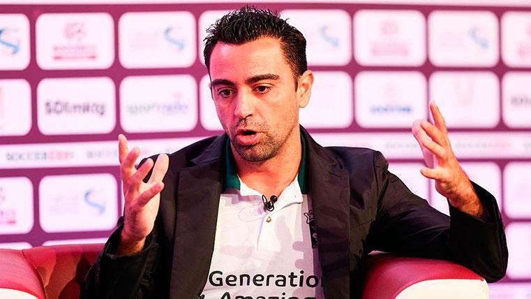 El mensaje de Xavi sobre el posible fichaje de Griezmann por el Barcelona
