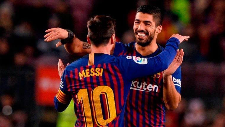 El Barça tiene en Messi y Suárez a la mejor dupla goleadora de Europa