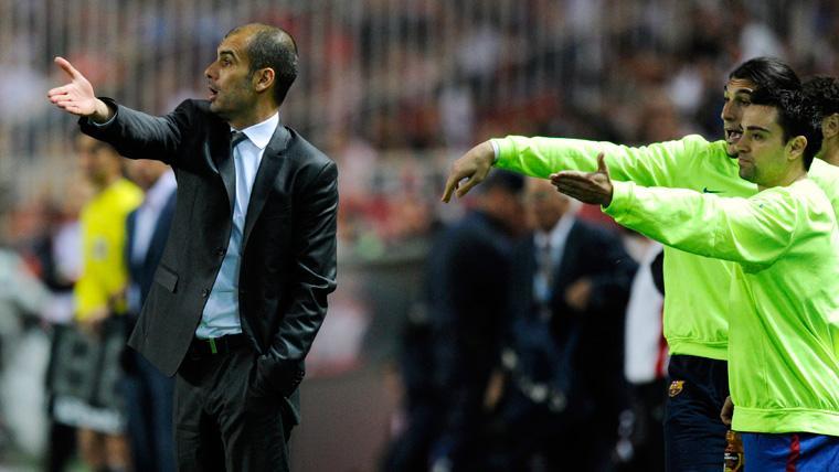 """Xavi acepta el reto: """"No me asusta que me vean como el nuevo Guardiola"""""""
