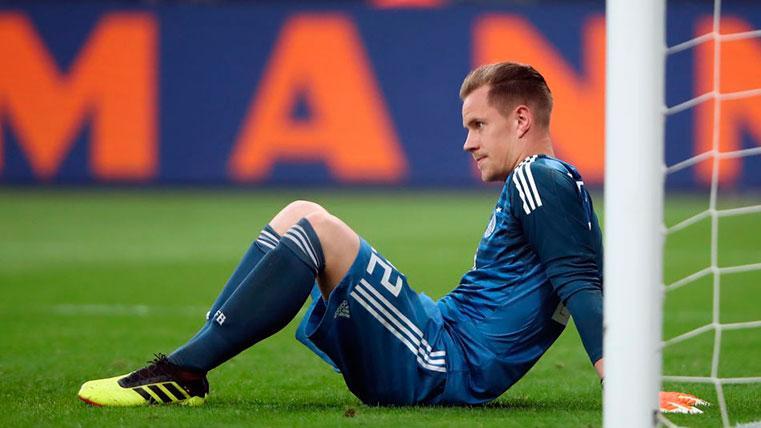 Ter Stegen, fuera de la lista de convocados de la selección alemana