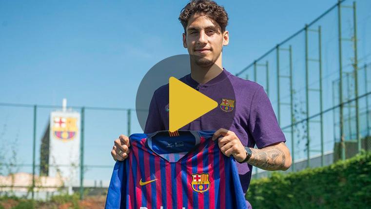 """Ludovit Reis ya es del Barça: """"Es un sueño hecho realidad para mí"""""""