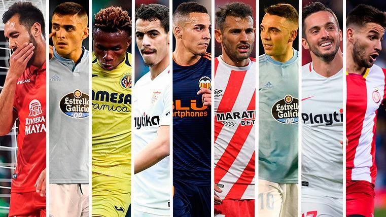 No sólo está Griezmann: Nueve delanteros de LaLiga interesantes para el Barça