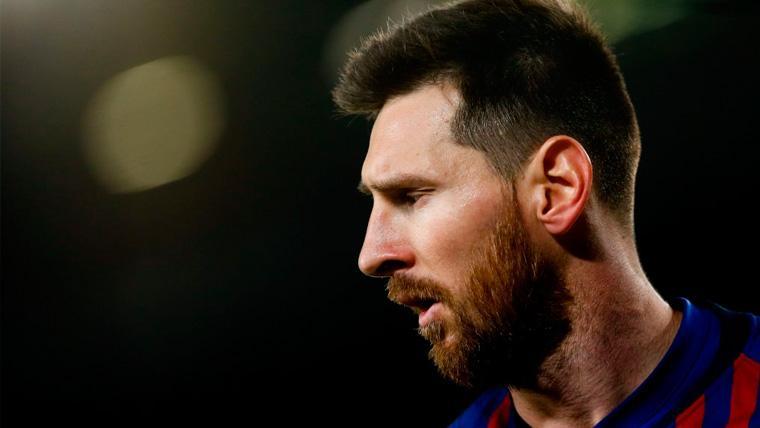 Messi romperá su silencio en una rueda de prensa del Barça previa a la final de Copa