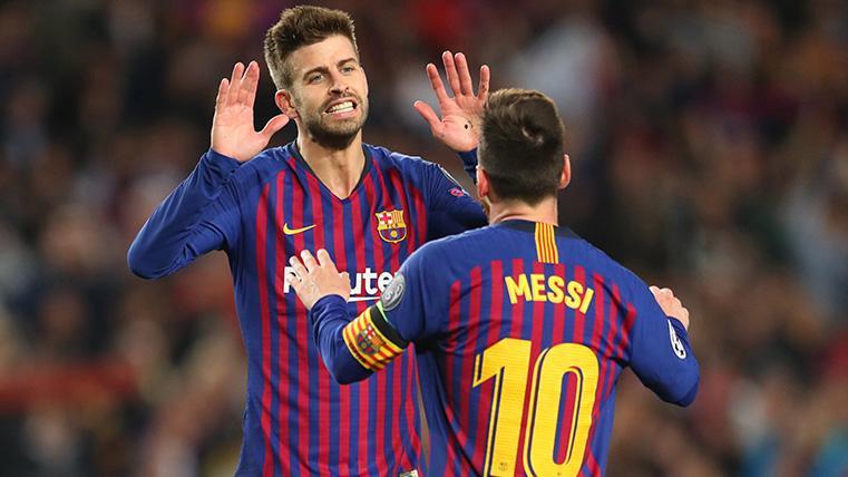 Messi, Piqué y Busquets quieren emular a Gainza y van a por su séptima Copa del Rey