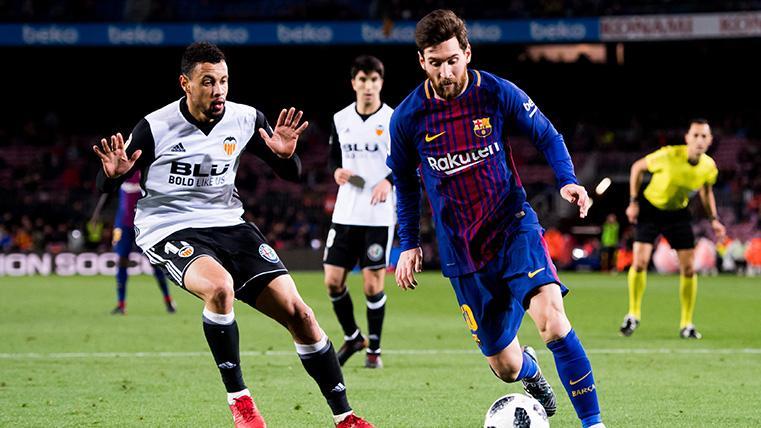 Leo Messi, clave en casi todas las finales de Copa del Rey que ha jugado con el Barça