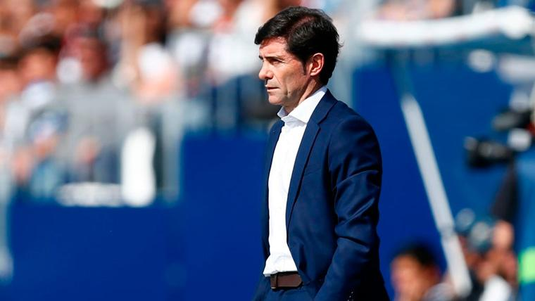 Marcelino admite que no sabe cómo parar a Messi y no se fía de las bajas del Barça