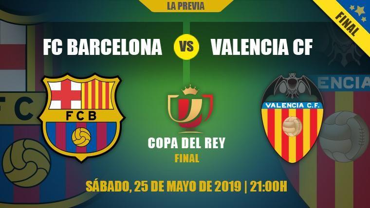 El Barça quiere alejar las dudas europeas demostrando al Valencia por qué es 'Rey de Copas'