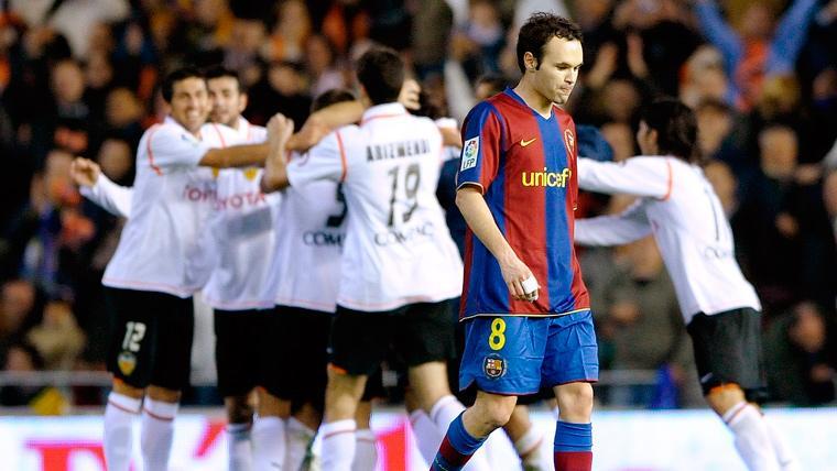 Hace 11 años que el Valencia no gana al Barça en la Copa del Rey