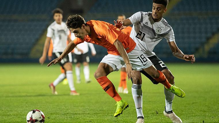 Ludovit Reis se estrenará con la selección sub 21 de Holanda